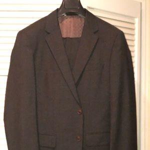 Men's Hugo Boss Dark Gray/Charcoal Suit- like new!